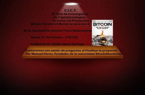 Proyeccion Bitcoin FCFM