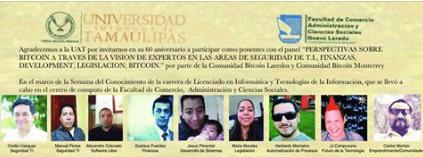 Agradecimiento a la Universidad Autonoma de Tamaulipas